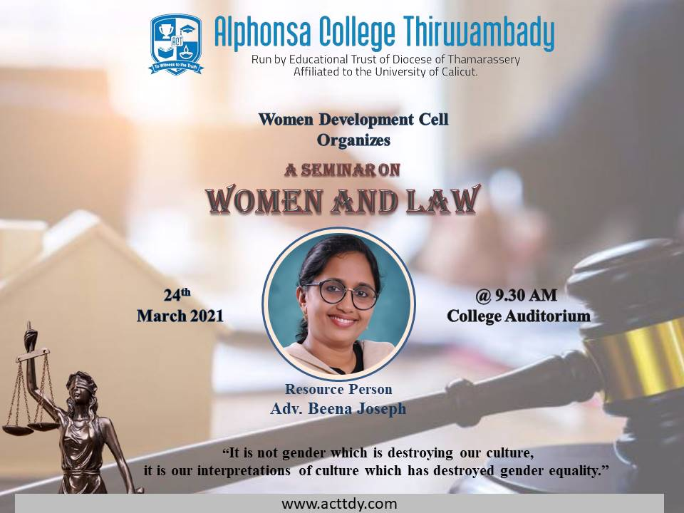 Seminar - Women and Law